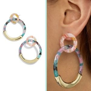 NWT Baublebar Hoop earrings